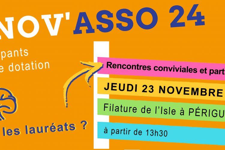 ACTU : Rencontres conviviales et participatives Innov'Asso 24